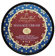 Voňavky, Parfémy, kozmetika Masážny krém s s extraktom z centely a aloe vera - Sabai Thai Jasmine Aroma Massage Cream