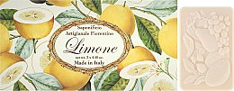 "Voňavky, Parfémy, kozmetika Sada toaletného mydla ""Lemon"" - Saponificio Artigianale Fiorentino Lemon"