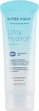 Voňavky, Parfémy, kozmetika Peelingový gél s kyselinou hyalurónovou - Missha Super Aqua Ultra Hyalron Peeling Gel