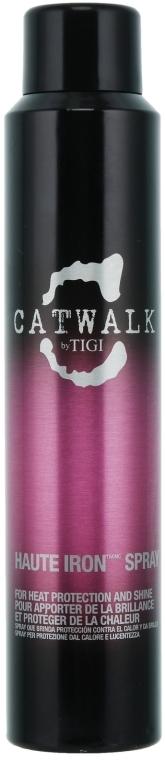 Termoochranný sprej na lesk vlasov - Tigi Catwalk Haute Iron Spray
