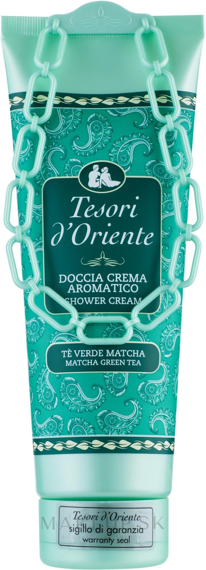 Tesori d`Oriente Matcha Green Tea - Sprchový krémový gél  — Obrázky 250 ml