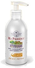 "Voňavky, Parfémy, kozmetika Tekuté mydlo Marseille ""Pomaranč"" - Ma Provence Liquid Marseille Soap Orange"