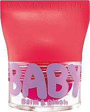 Voňavky, Parfémy, kozmetika Balzam na pery a tváre - Maybelline Baby Lips Balm Blush Ball