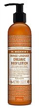 """Voňavky, Parfémy, kozmetika Lotion na ruky a telo """"Orange Lavender"""" - Dr. Bronner's Orange Lavender Organic Hand & Body Lotion"""