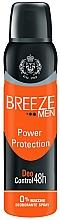 Voňavky, Parfémy, kozmetika Dezodorant v spreji - Breeze Men Power Protection Deo Control 48H