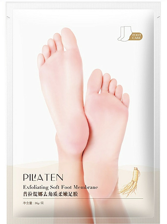 Maska na nohy peelingová - Pilaten Exfoliating Soft Foot