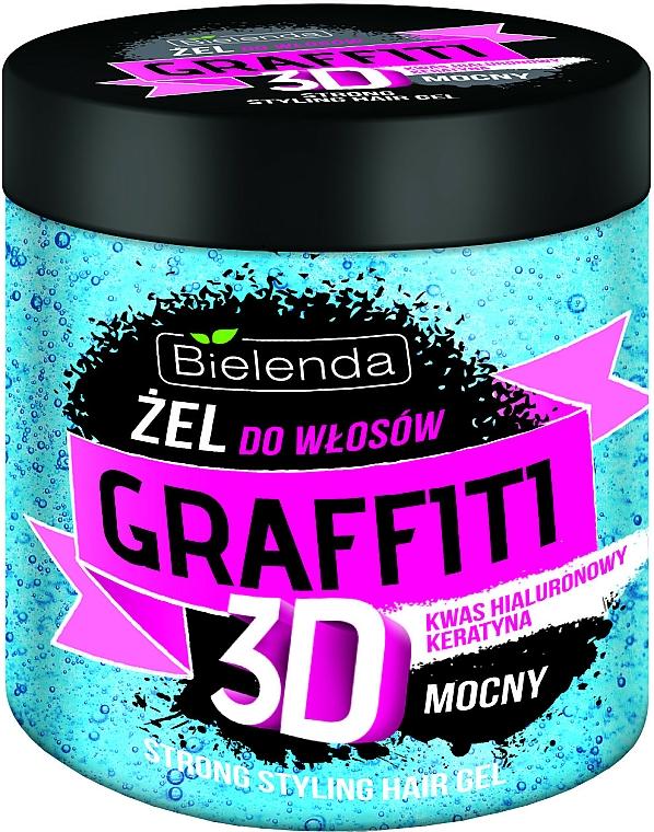 Gél na vlasy - Bielenda GRAFFITI 3D Strong Stayling Hair Gel — Obrázky N1