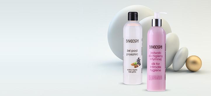 Pri nákupe výrobkov BingoSpa v hodnote vyše 13 € získaj gél na intímnu hygienu ako darček