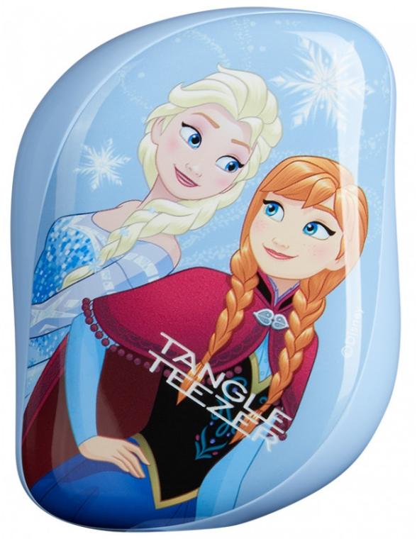 Kompaktná kefka na vlasy - Tangle Teezer Compact Styler Disney Frozen Brush — Obrázky N3