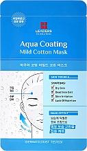 Voňavky, Parfémy, kozmetika Maska na tvár - Leaders Ex Solution Aqua Coating Mild Cotton Mask