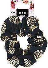 Voňavky, Parfémy, kozmetika Gumička do vlasov, 417609, zlato-čierna - Glamour