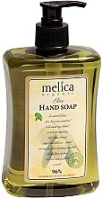 Voňavky, Parfémy, kozmetika Tekuté mydlo s olivovým extraktom - Melica Organic Olive Liquid Soap