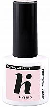 Voňavky, Parfémy, kozmetika Matný náter na nechty - Hi Hybrid Top No Wipe Matt