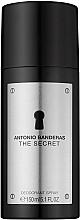 Voňavky, Parfémy, kozmetika Antonio Banderas The Secret - Deodorant