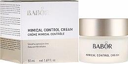Voňavky, Parfémy, kozmetika Krém na reguláciu vrások - Babor Mimical Control Cream