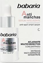 Voňavky, Parfémy, kozmetika Sérum na tvár proti pigmentovým škvrnám - Babaria Smart Anti-Dark Spot Serum
