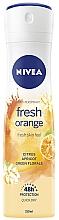Voňavky, Parfémy, kozmetika Dezodorant v spreji - Nivea Fresh Orange Deodorant