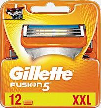 Voňavky, Parfémy, kozmetika Vymeniteľné kazety na holenie, 12 ks - Gillette Fusion