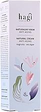 Voňavky, Parfémy, kozmetika Prírodný krém na tvár - Hagi Natural Face Cream Anti-aging