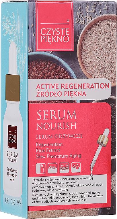 Výživné sérum na tvár s ryžovým extraktom - Czyste Piekno Face Serum