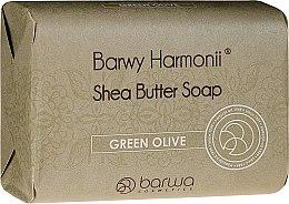 Voňavky, Parfémy, kozmetika Mydlo s extraktom zo zelených olív - Barwa Harmony Green Olive Soap