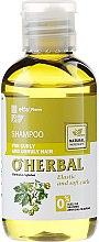 Voňavky, Parfémy, kozmetika Šampón na kučeravé a nepoddajné vlasy s chmeľovým extraktom - O'Herbal