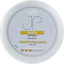 Voňavky, Parfémy, kozmetika Pasta matná pre styling s bielou hlinou - Joanna Professiona Mattifying Paste
