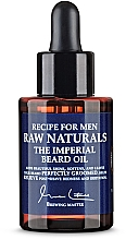 Voňavky, Parfémy, kozmetika Olej na bradu - Recipe For Men RAW Naturals The Imperial Beard Oil