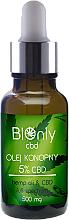 Voňavky, Parfémy, kozmetika Konopný olej CBD 5% - BIOnly