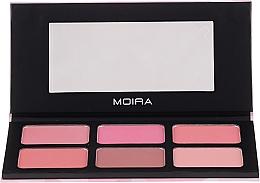 Voňavky, Parfémy, kozmetika Paleta líceniek na tvár - Moira Blossom & Adore Blush Palette