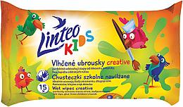 Voňavky, Parfémy, kozmetika Detské vlhčené obrúsky - Linteo Kids Creative