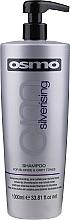 Voňavky, Parfémy, kozmetika Šampónový neutralizátor žlť - Osmo Silverising Shampoo