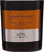 Voňavky, Parfémy, kozmetika Prírodná sójová sviečka - APIS Professional Spiced Orange Candle