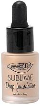 Voňavky, Parfémy, kozmetika Tekutý make-up - PuroBio Sublime Drop Foundation