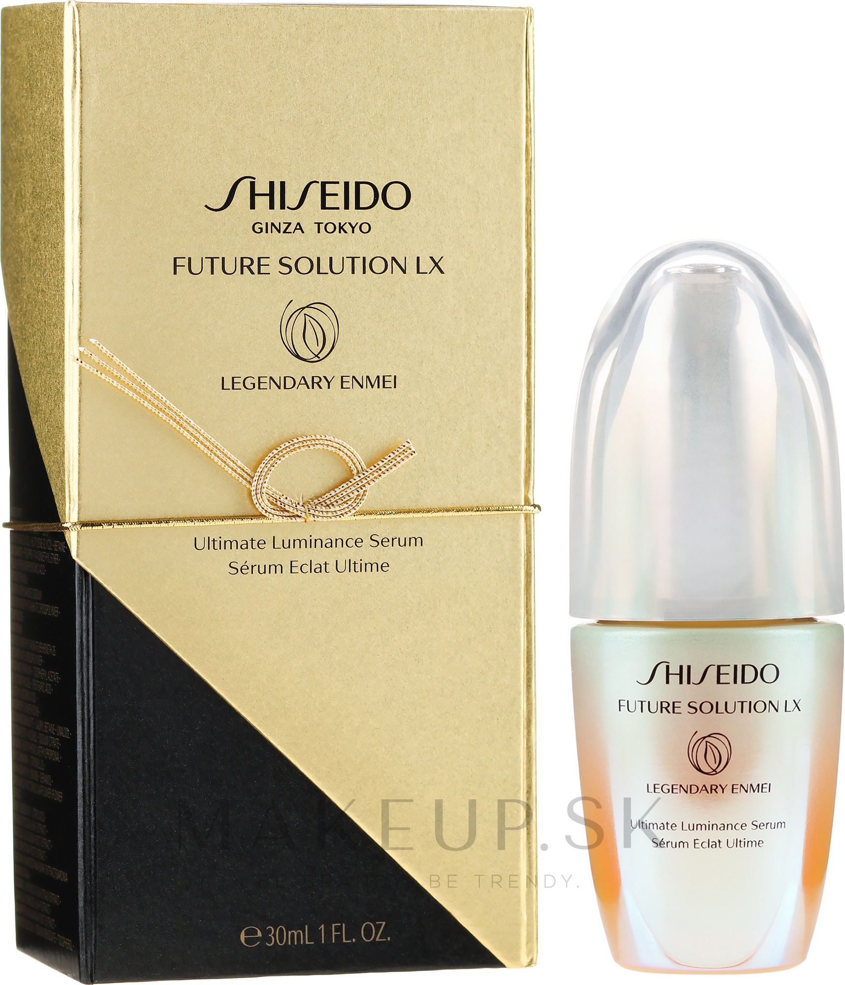 Sérum pre tvár - Shiseido Future Solution LX Legendary Enmei Ultimate Luminance Serum — Obrázky 30 ml