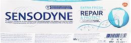 """Voňavky, Parfémy, kozmetika zubná pasta """"Obnovenie a ochrana"""" - Sensodyne Repair&Protect Extra Fresh"""