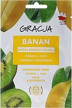 Voňavky, Parfémy, kozmetika Energetická maska na tvár banán + kivi - Gracja Energizing Mask