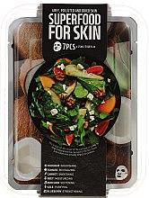 Voňavky, Parfémy, kozmetika Sada - Superfood Salad For Skin Grey Polluted And Dried Skin (mask/7x25ml)