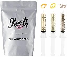 Voňavky, Parfémy, kozmetika Sada náhradných náplní na bielenie zubov - Keeth Exotic Fruit Refill Pack