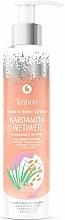 """Voňavky, Parfémy, kozmetika Balzam na ruky a telo """"Kardamóm a vetiver"""" - Kabos Cardamon & Vetiwer Hand & Body Lotion"""
