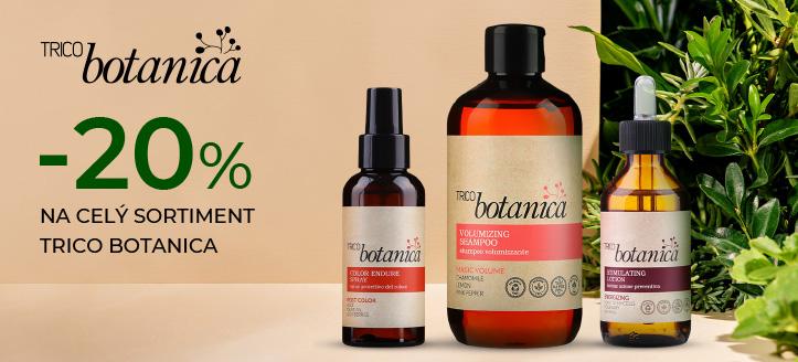 Zľava 20% na celý sortiment Trico Botanica. Ceny na stránke sú uvedené so zľavou