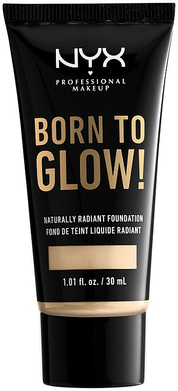 Tekutý tónový krém - NYX Professional Makeup Born To Glow