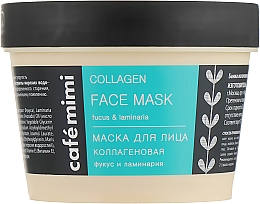 "Voňavky, Parfémy, kozmetika Maska na tvár ""Kolagénová"" - Cafe Mimi Face Mask"