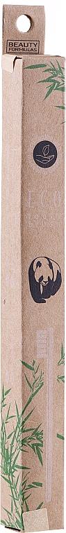Bambusová zubná kefka - Beauty Formulas Eco Friendly Bamboo Tooth Brush