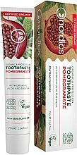 """Voňavky, Parfémy, kozmetika Zubná pasta """"Granátové jablko"""" s aloe vera a šalviou - Nordics Toothpaste Pomegranate"""