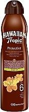 Voňavky, Parfémy, kozmetika Suchý olej na opaľovanie - Hawaiian Tropic Protective Dry Oil Continuous Spray Aragan Oil SPF 6