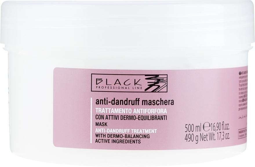 Krémová maska proti lupinám - Black Professional Line Anti-Dandruff Mask