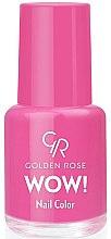 Voňavky, Parfémy, kozmetika Lak na nechty - Golden Rose Wow Nail Color