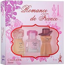Voňavky, Parfémy, kozmetika Charrier Parfums Romance De France - Sada (edp/11.5ml+edp/10.1ml+edp/12ml)