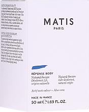Voňavky, Parfémy, kozmetika Dezodorant - Matis Reponse Body Deodorant